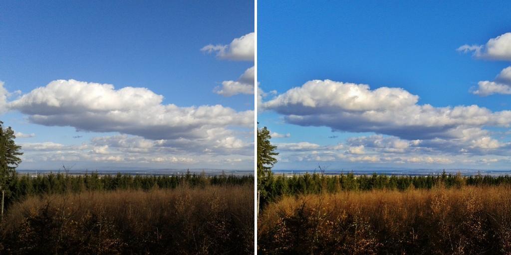 fotka před úpravou a po ní